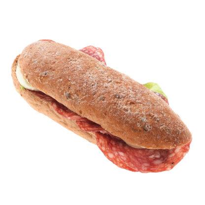 Albisbrötlisandwich Salami